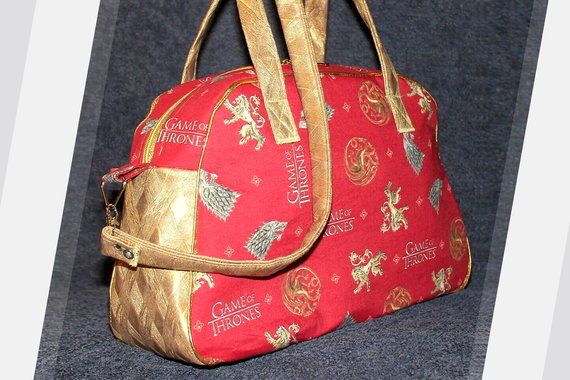 Schnittmuster Retrobag Inspiration Game of Thrones Tasche