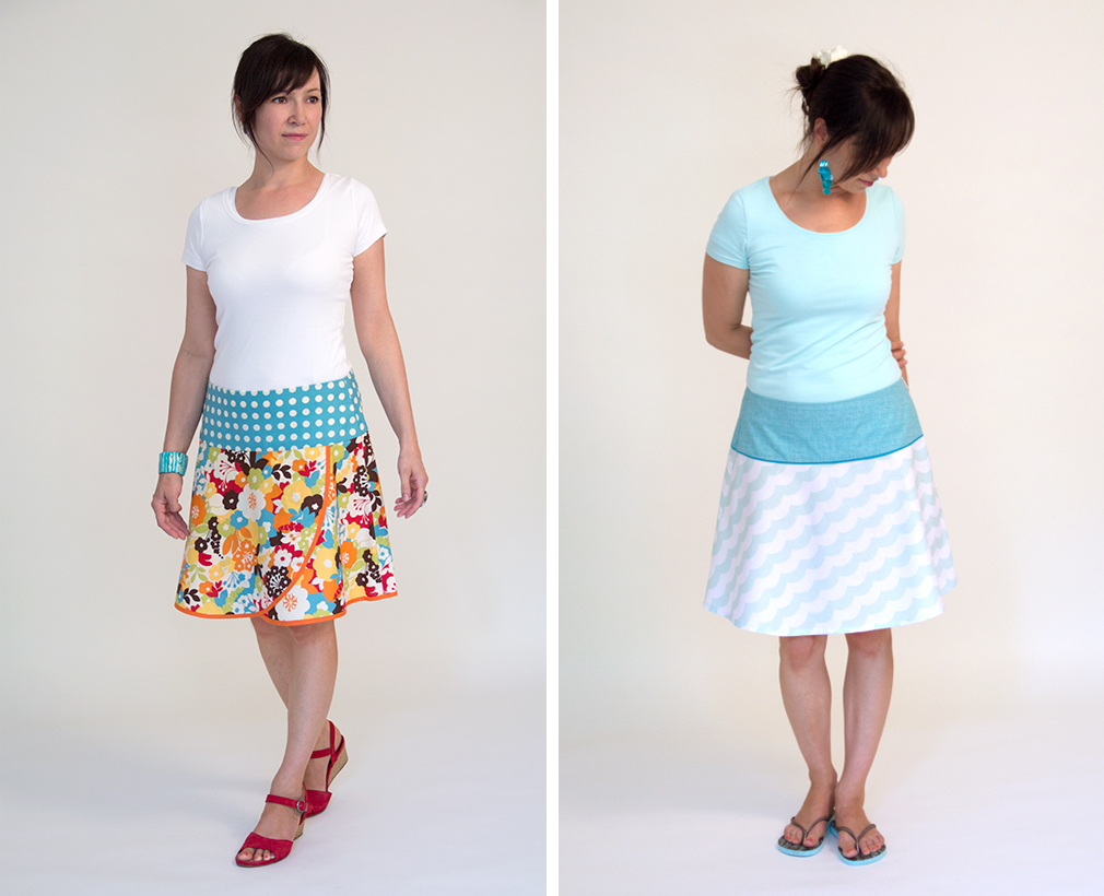 Video tutorial: zippers and bias cuts with the \'Romy\' skirt | pattydoo